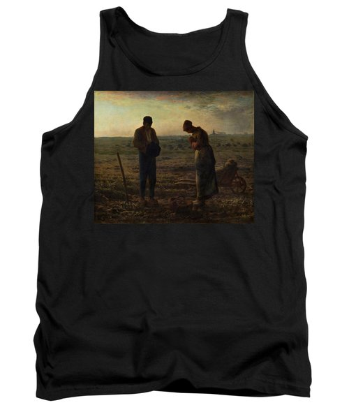 The Angelus Tank Top by Jean Francois Millet