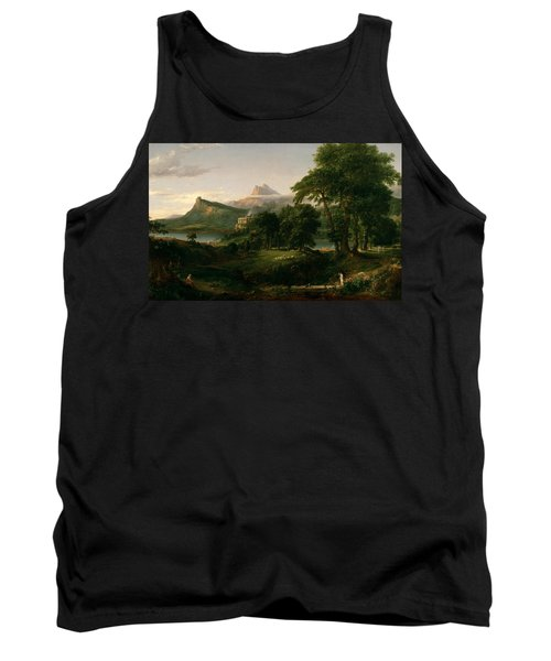 The Course Of Empire The Arcadian Or Pastoral State Tank Top