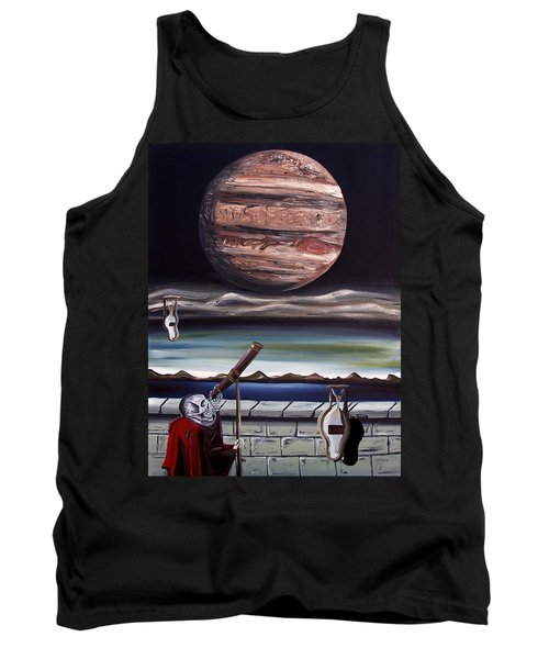 The Eternal Staring Contest Tank Top by Ryan Demaree