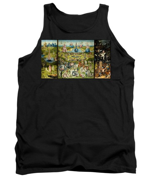 The Garden Of Earthly Delights Tank Top by Hieronymus Bosch