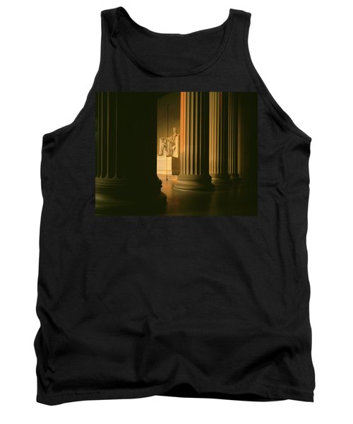 The Lincoln Memorial In The Morning Tank Top by Panoramic Images
