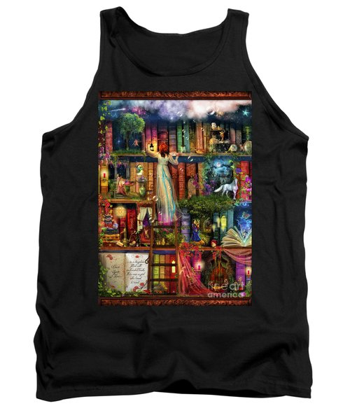 Treasure Hunt Book Shelf Tank Top