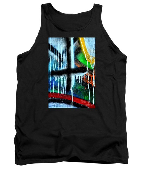 Tank Top featuring the photograph Urban Abstract 9 by Newel Hunter