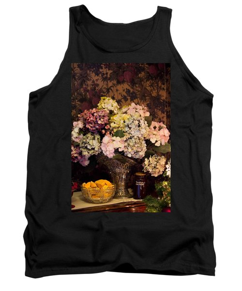Tank Top featuring the photograph Victorian Christmas by Patricia Babbitt