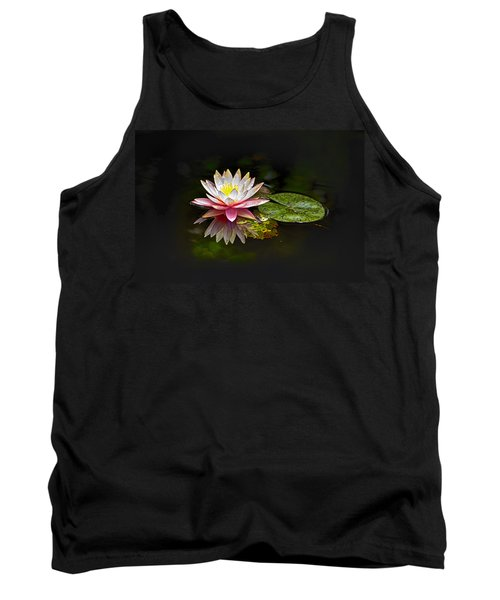 Water Lily Tank Top by Bill Barber