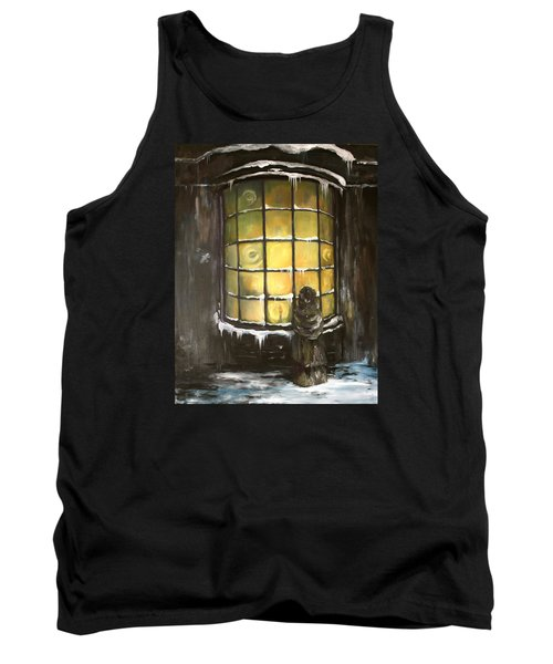 Tank Top featuring the painting Ye Old Shoppe  by Jean Walker