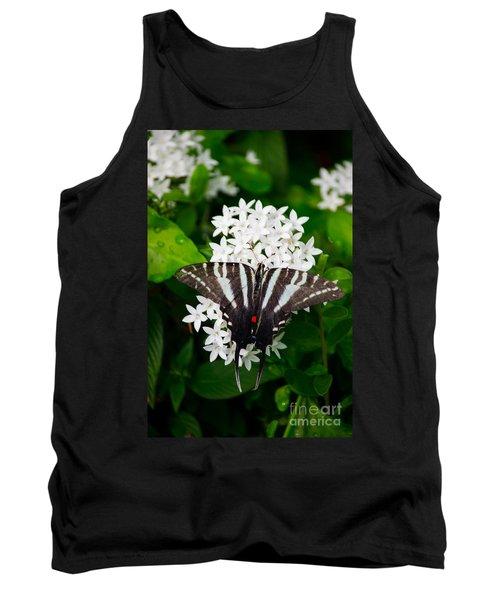 Zebra Swallowtail Tank Top
