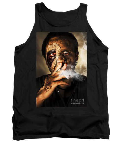 Zombie Killing Some Time Tank Top