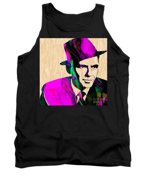 Frank Sinatra Tank Top by Marvin Blaine