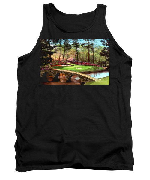 12th Hole At Augusta  Tank Top