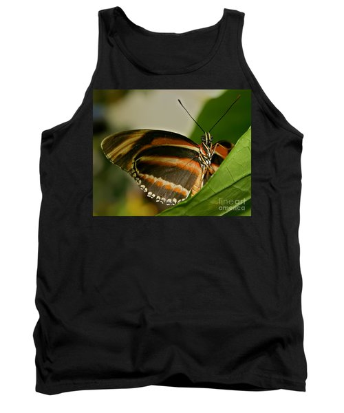 Tank Top featuring the photograph Butterfly by Olga Hamilton