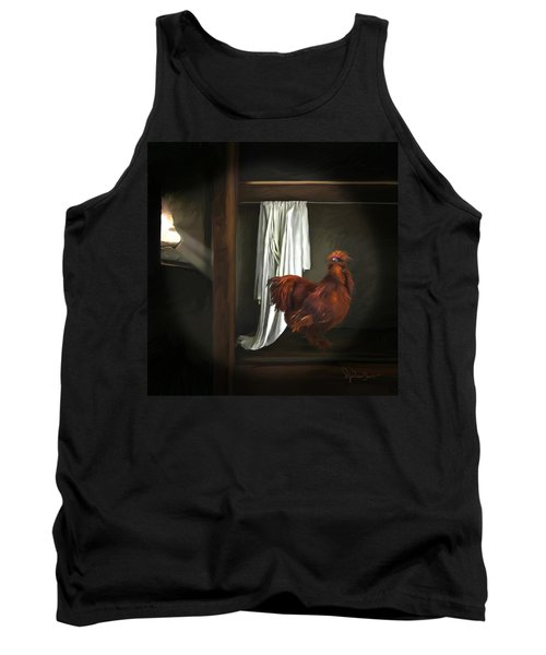18. Red Rooster Tank Top