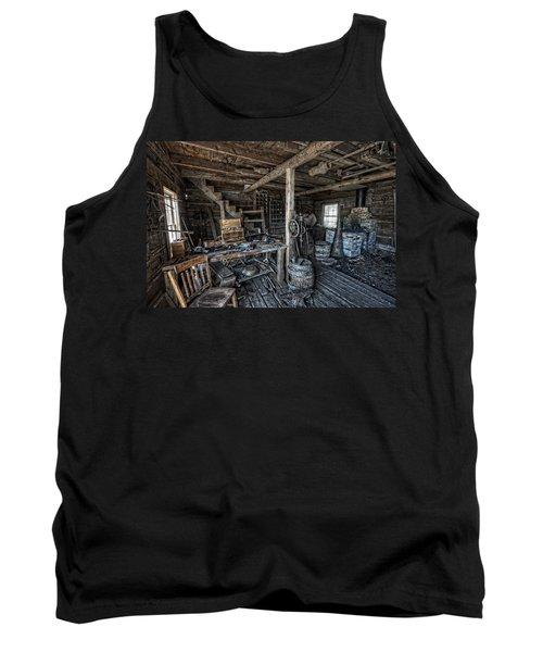 1860's Blacksmith Shop - Nevada City Ghost Town - Montana Tank Top
