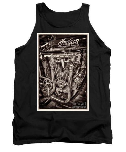1912 Indian Twin Tank Top by Paul W Faust -  Impressions of Light