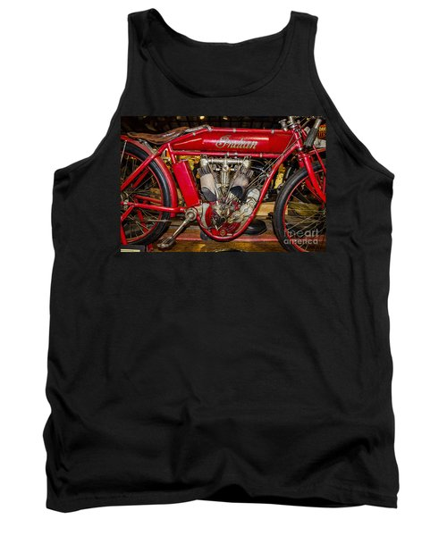 Tank Top featuring the photograph 1915 Indian Model D1 by Paul Mashburn