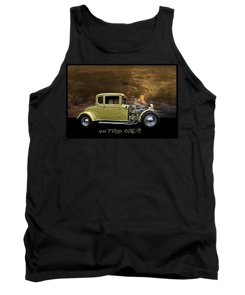 1930 Ford Coupe Tank Top by Richard Farrington
