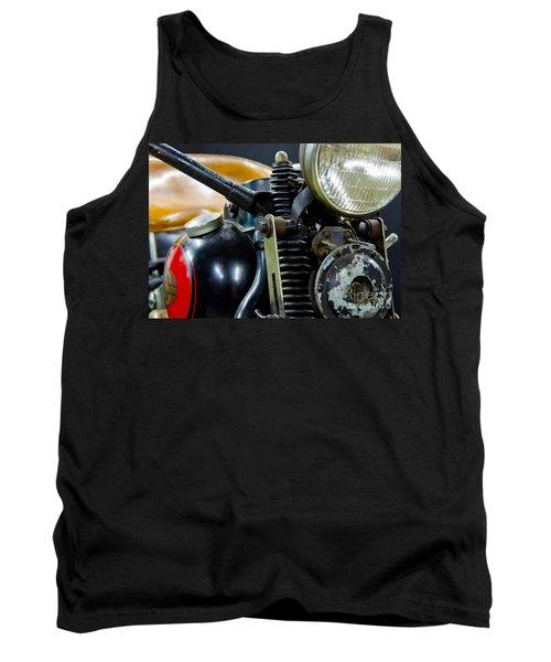 1936 El Knucklehead Harley Davidson Motorcycle Tank Top