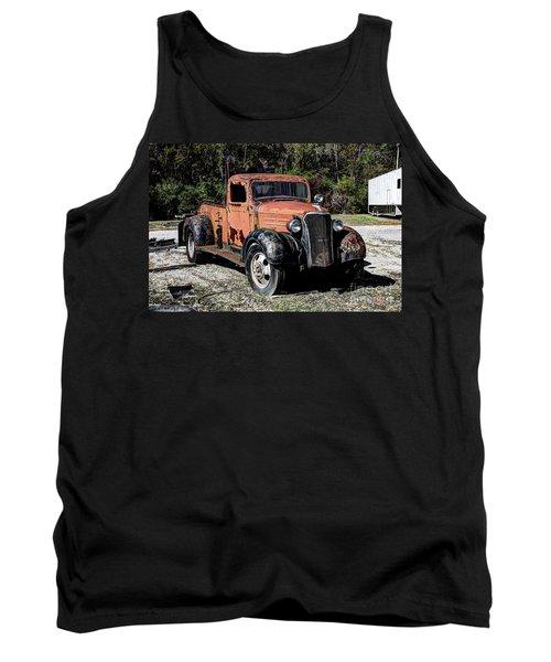 1937 Chevy Wrecker Tank Top