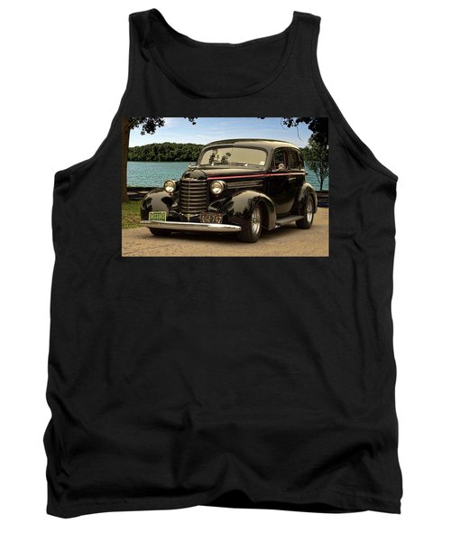 1937 Oldsmobile Custom Sedan Hot Rod Tank Top