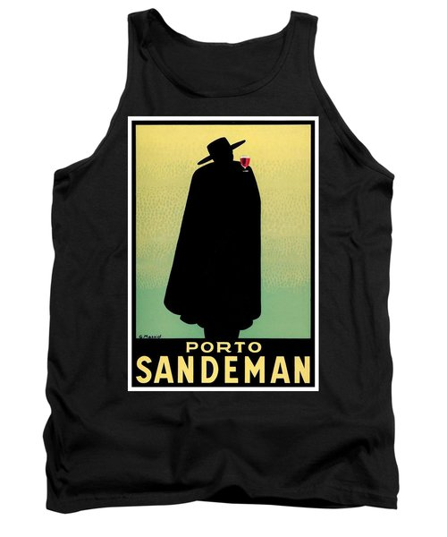 1938 - Porto Sandeman French Wines Advertisement Poster - Color Tank Top