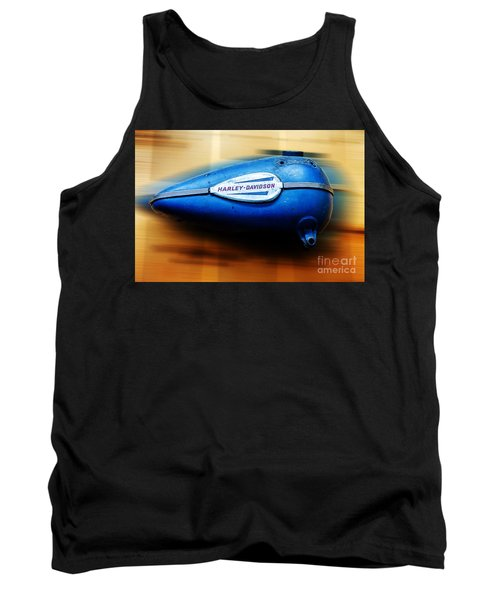 Tank Top featuring the photograph 1940s Harley Tank by Paul Mashburn