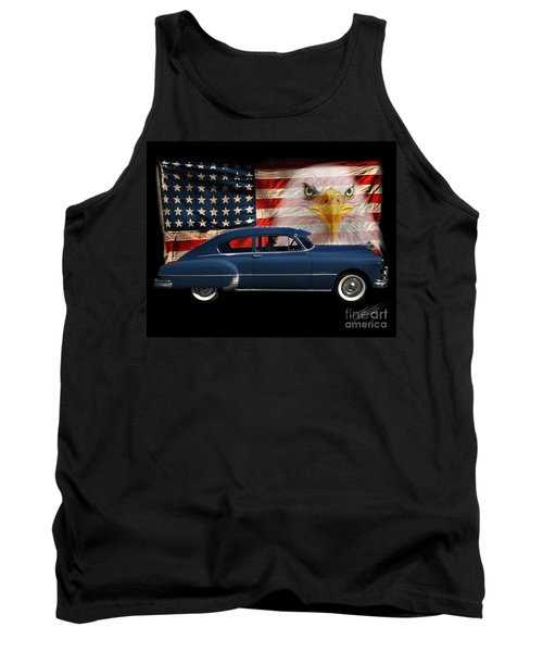 Tank Top featuring the photograph 1949 Pontiac Tribute Roger by Peter Piatt