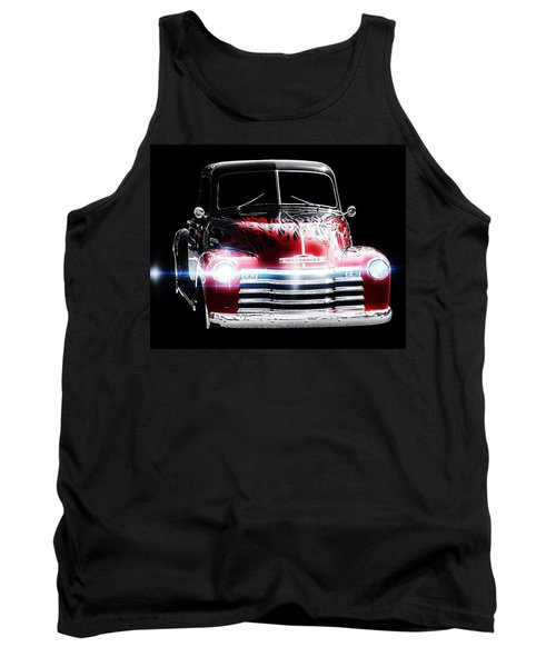 Classic Car Tank Top featuring the photograph 1950's Chevrolet Truck by Aaron Berg