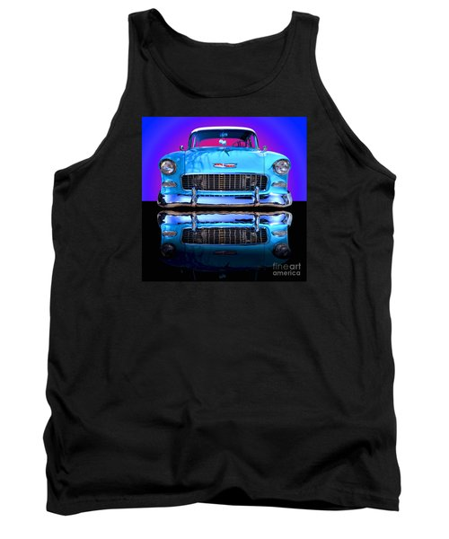 1955 Chevy Bel Air Tank Top by Jim Carrell