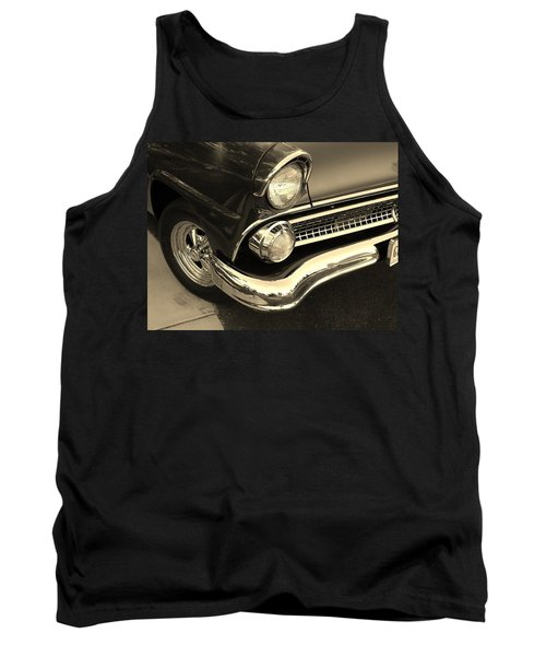 1955 Ford Crown Victoria Tank Top by Jean Goodwin Brooks