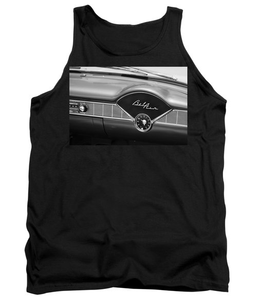 1956 Chevrolet Bel Air Convertible Painted Bw Tank Top