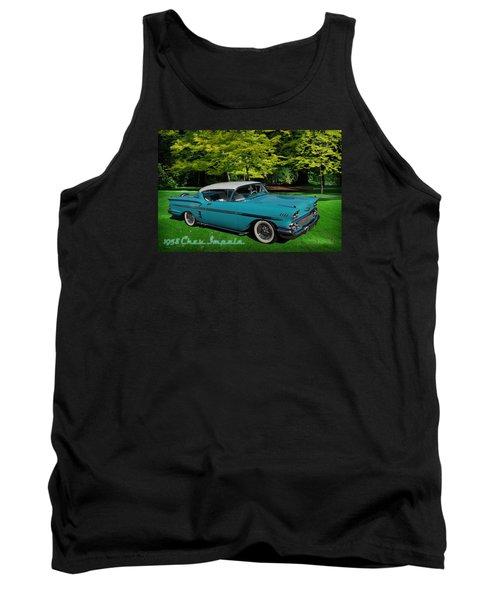 1958 Chev Impala Tank Top by Richard Farrington