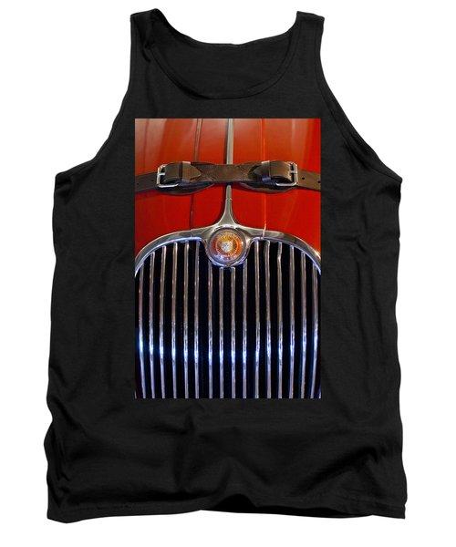 1958 Jaguar Xk150 Roadster Grille Emblem Tank Top