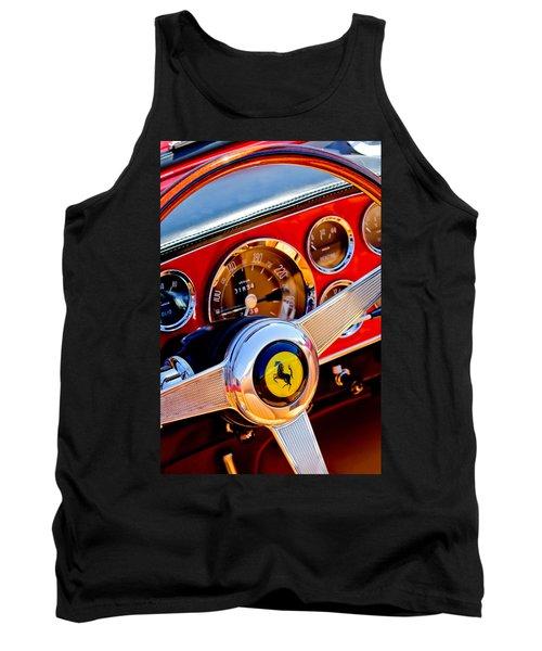 1960 Ferrari 250 Gt Cabriolet Pininfarina Series II Steering Wheel Emblem -1319c Tank Top
