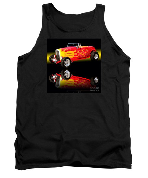 1932 Ford V8 Hotrod Tank Top by Jim Carrell