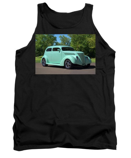 1937 Ford Sedan Hot Rod Tank Top