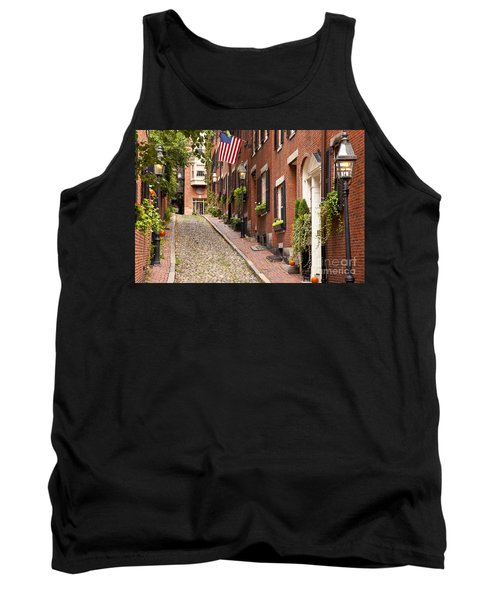Acorn Street Boston Tank Top by Brian Jannsen