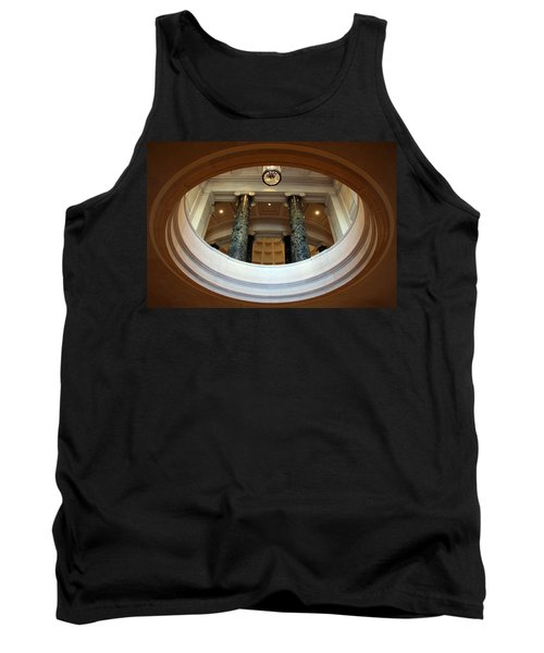 Tank Top featuring the photograph An Oculus by Cora Wandel