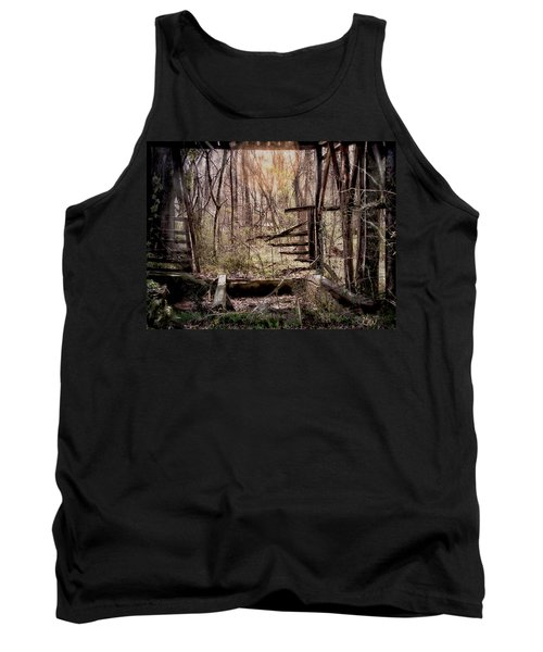 Tank Top featuring the photograph Been There by Bonnie Willis