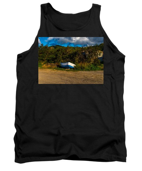 Boat At Rest Tank Top