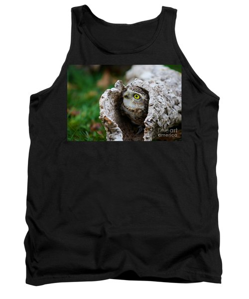 Burrowing Owl  Tank Top