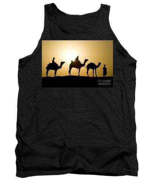 Camel Caravan, India Tank Top