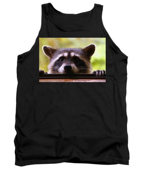 Can You See Me Now? Tank Top by Kym Backland