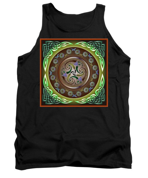 Celtic Pattern Tank Top