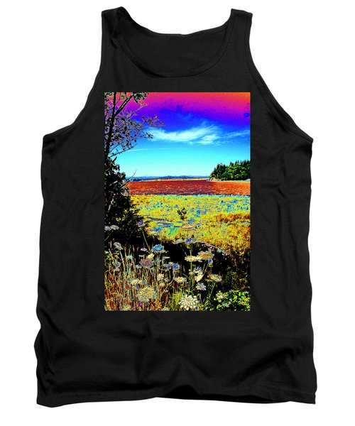 Coos Bay Wild Flowers Tank Top