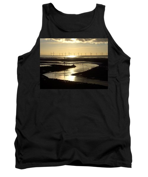 Evening Low Tide  Tank Top