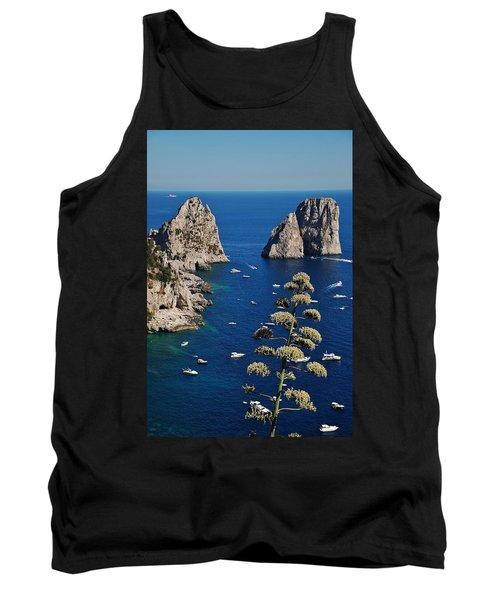 Faraglioni In Capri Tank Top