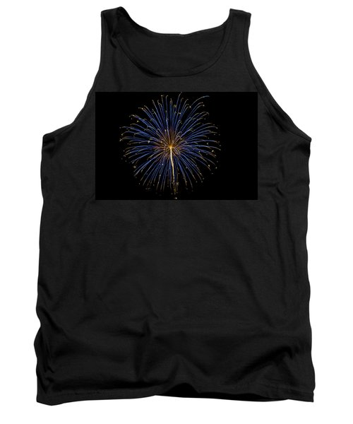 Fireworks Bursts Colors And Shapes Tank Top