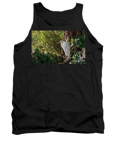 Tank Top featuring the photograph Great Egret by Kate Brown