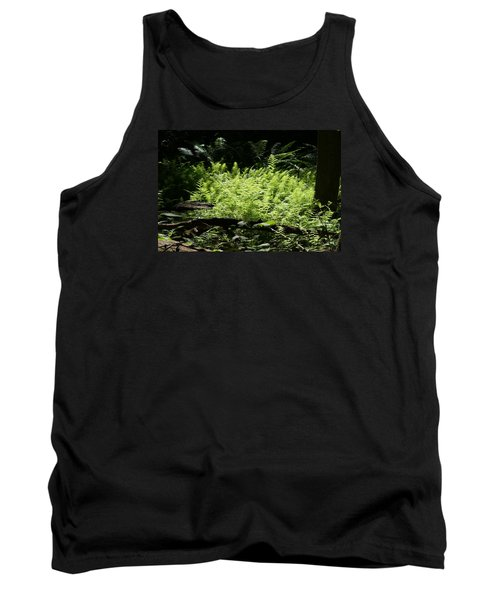 Tank Top featuring the photograph In The Woods by Heidi Poulin