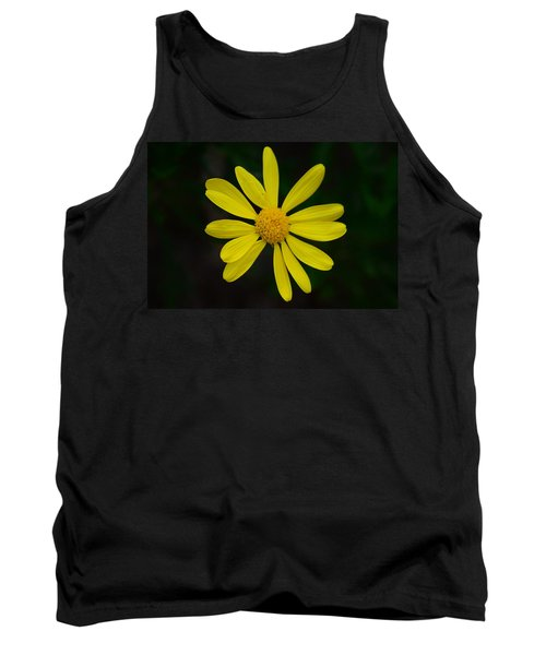 Tank Top featuring the photograph Isolated Daisy by Debra Martz